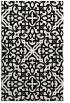 rug #1020614 |  black damask rug