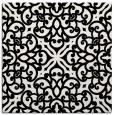 rug #1020626   square black damask rug
