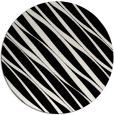 rug #1020758   round black stripes rug
