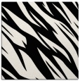 rug #1020846 | square black abstract rug