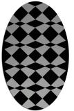 rug #1021112   oval check rug
