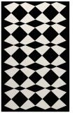 rug #1021114 |  black check rug
