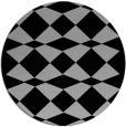 rug #1021120 | round check rug