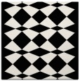 rug #1021126 | square black graphic rug
