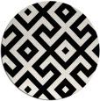 rug #1021298   round black popular rug