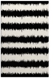 rug #1021414 |  black stripes rug