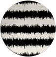 rug #1021418 | round black rug