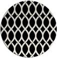 rug #1021458   round black circles rug