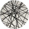 rug #1021518   round black popular rug