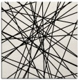 rug #1021526 | square black abstract rug