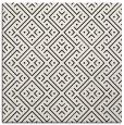 rug #1021646 | square black graphic rug