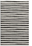 rug #1021754    black stripes rug
