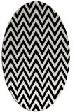 rug #1022131 | oval retro rug