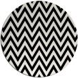 rug #1022138 | round black retro rug