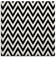 rug #1022146 | square black retro rug