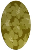 rug #102217 | oval light-green rug