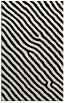 rug #1022174 |  black stripes rug