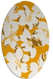 rug #102233 | oval light-orange natural rug