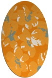 rug #102241 | oval light-orange natural rug