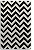 rug #1022574    black stripes rug