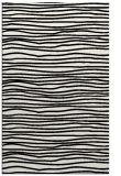 rug #1022674 |  black stripes rug