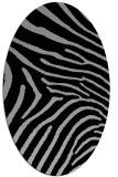 rug #1022772 | oval stripes rug