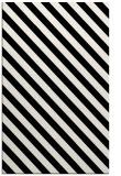 rug #1022954 |  black stripes rug