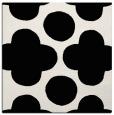 rug #1023066 | square black circles rug