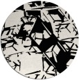 rug #1023098 | round abstract rug
