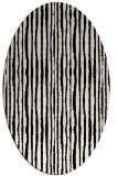 rug #1023171   oval stripes rug