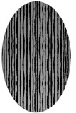 rug #1023173 | oval stripes rug
