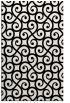 rug #1023234 |  black traditional rug