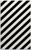 rug #1023334    black stripes rug
