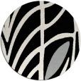 rug #1023539 | round graphic rug