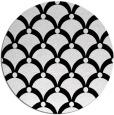 rug #1023598   round black rug