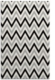 rug #1023834 |  black stripes rug