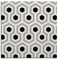rug #1023906 | square black retro rug