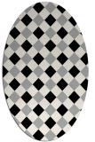 rug #1023932   oval check rug