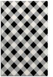 rug #1023934 |  black check rug