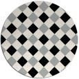 rug #1023940   round check rug