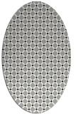 rug #1023953   oval check rug
