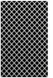 rug #1023954 |  black check rug