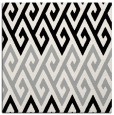 rug #1024086 | square black retro rug