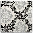 rug #1024426   square black damask rug