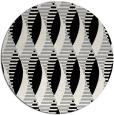 rug #1024560 | round retro rug