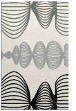 rug #1024614 |  black circles rug