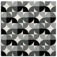 rug #1024946 | square black retro rug