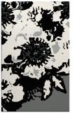 rug #1024954 |  black abstract rug