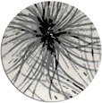 rug #1024998 | round black abstract rug