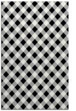 rug #1025034 |  black check rug